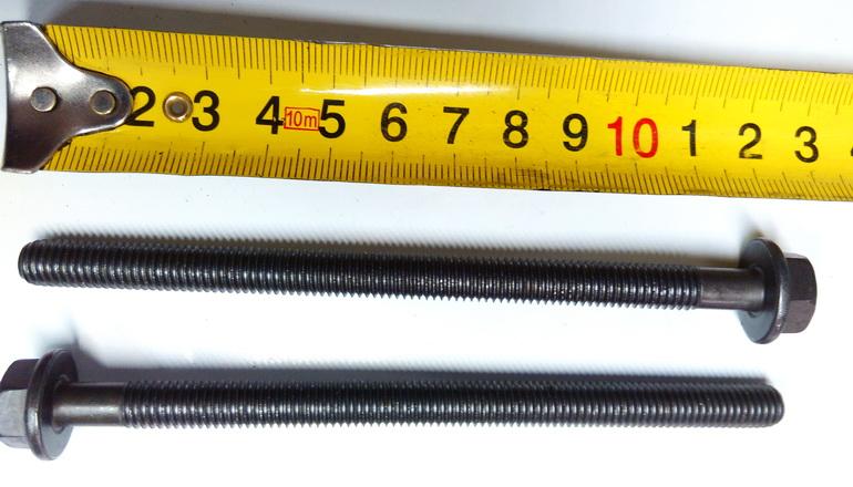 Болт ГБЦ (малый) Форд/Пежо 2.2-2.4L (115-155л.с./120-131л.с./ЕВРО 4/5)