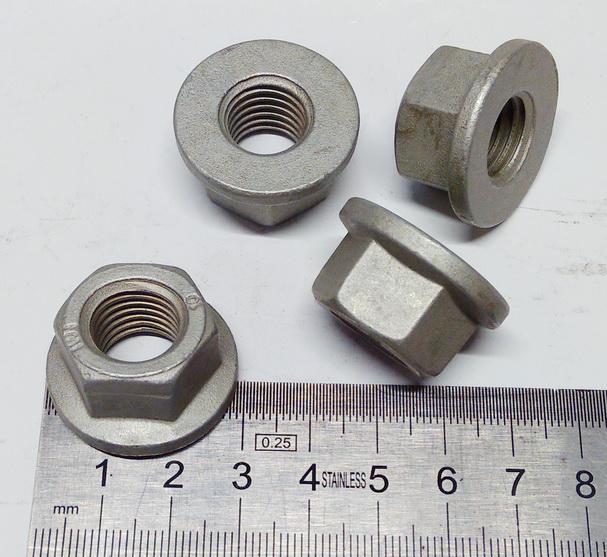 Болт рессоры FORD TRANSIT (M14x95MM) задний -ГАЙКА