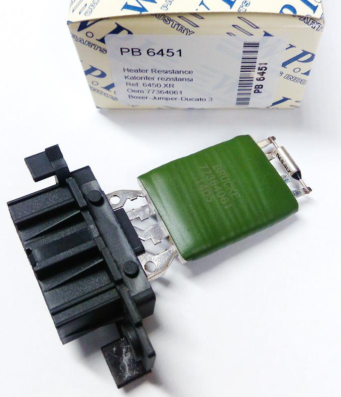 Сопротивление(резистор) печки ПЕЖО BOX III/JUMP III/DUC 250 WPI