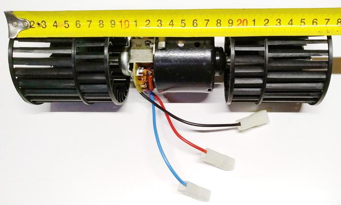 Мотор отопителя дополнительный н/о Газель Бизнес/NEXT (25,5 (по крыльчатке 27,5))